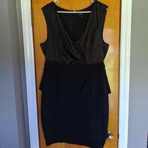 Torrid peplum dress